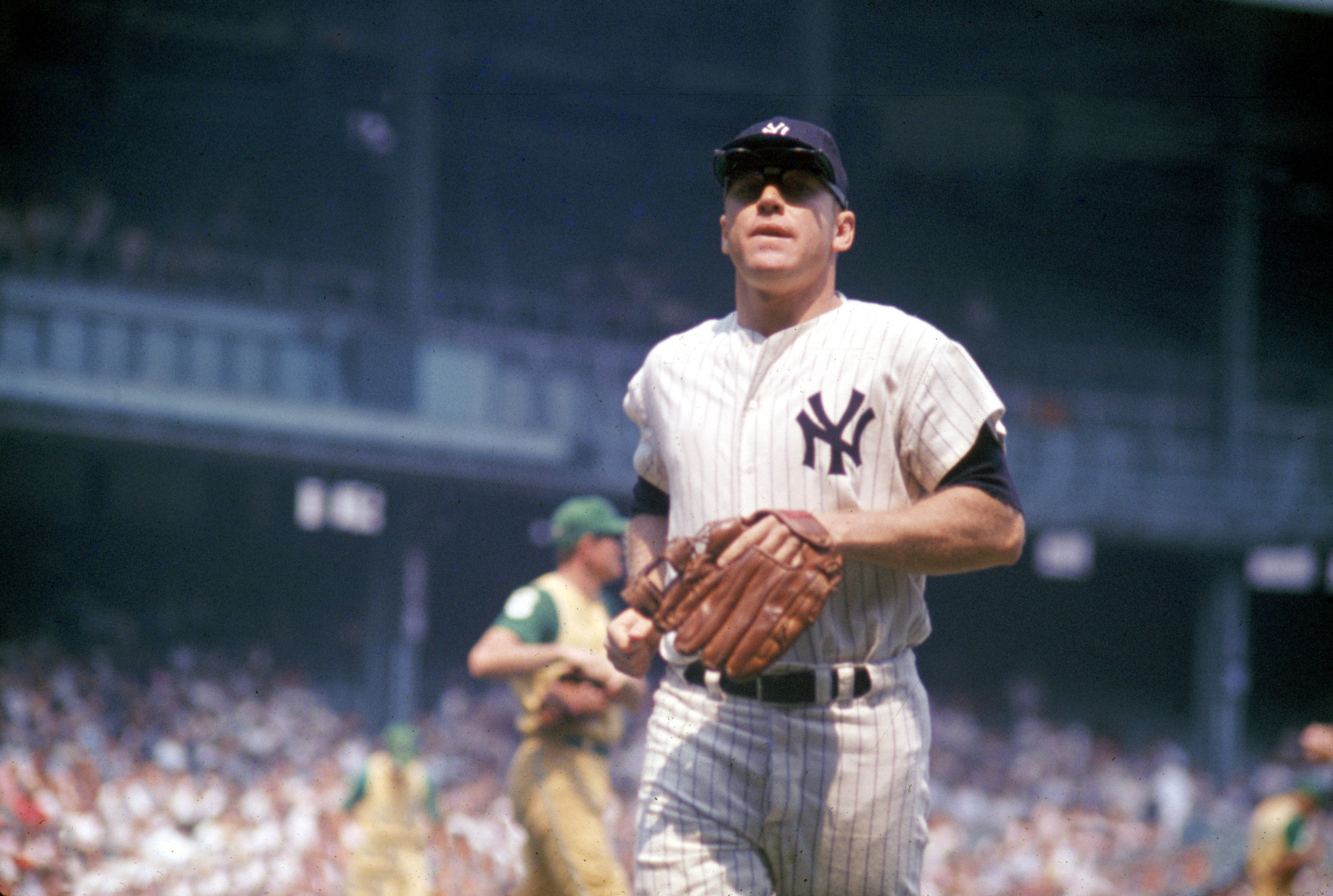 New York Yankees: Mickey Mantle plays his last game at Yankee Stadium