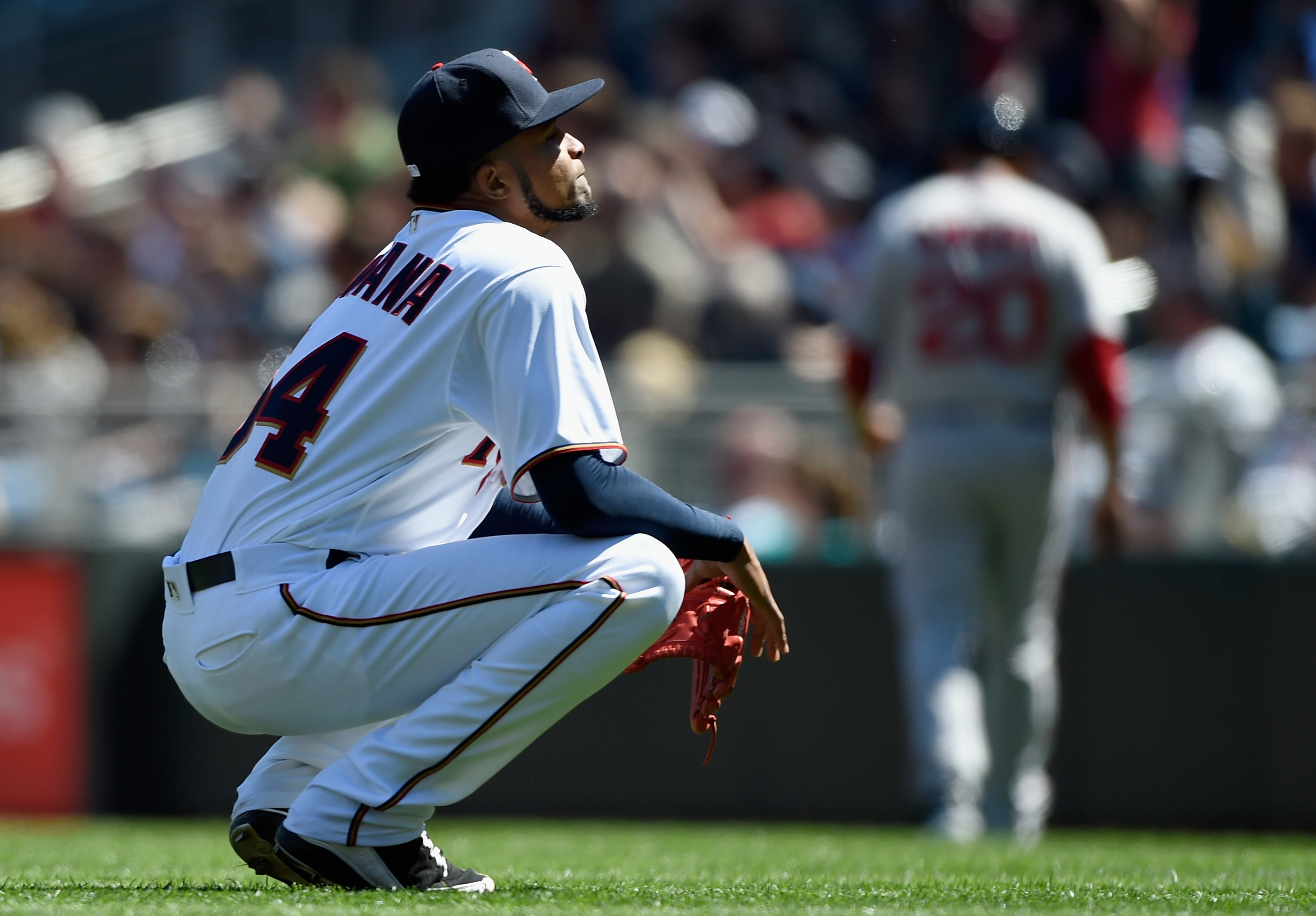 Twins' Ervin Santana out up to 3 months after finger surgery