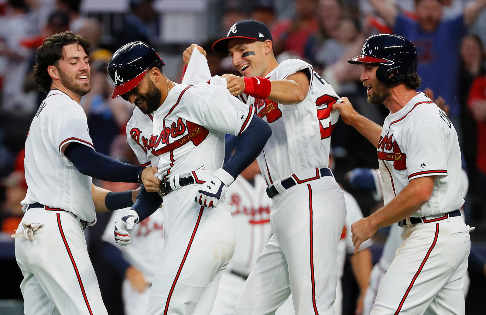 finest selection 0dbfb d327e Atlanta Braves: A pitching rebuild now leads league in offense?!