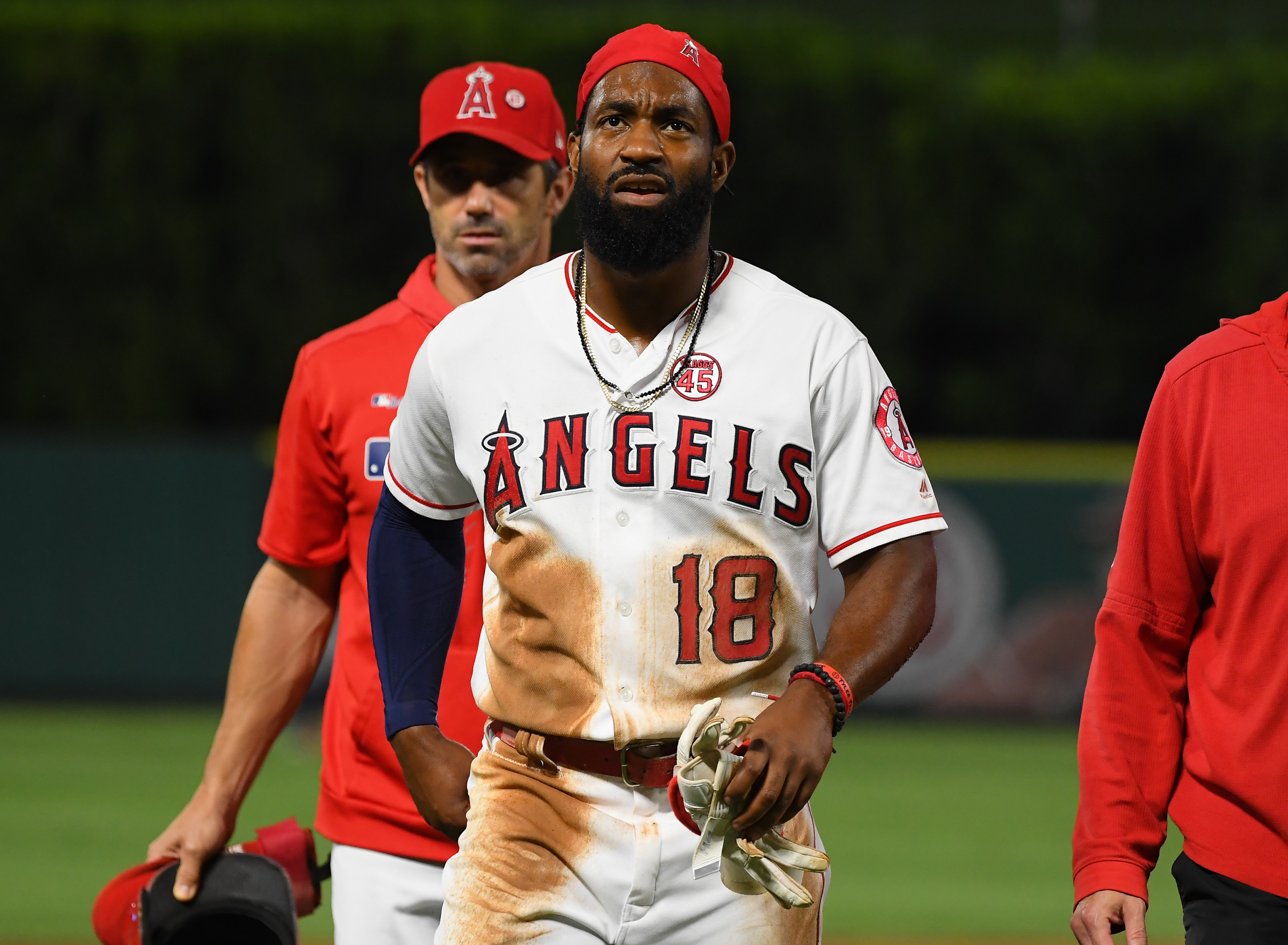 Los Angeles Angels: Brian Goodwin's going to get paid